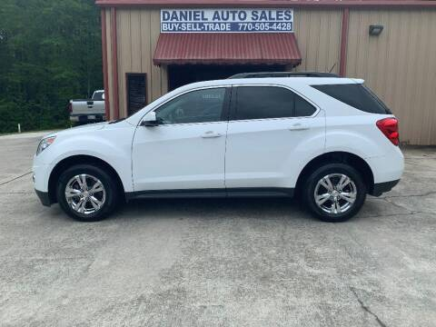 2015 Chevrolet Equinox for sale at Daniel Used Auto Sales in Dallas GA