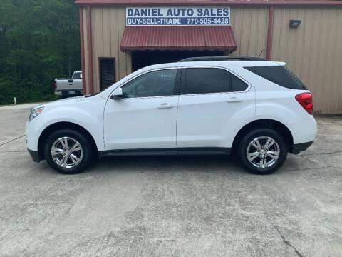 2015 Chevrolet Equinox for sale at Daniel Used Auto Sales in Dallas GA