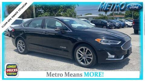 2019 Ford Fusion Hybrid for sale at Your First Vehicle in Miami FL
