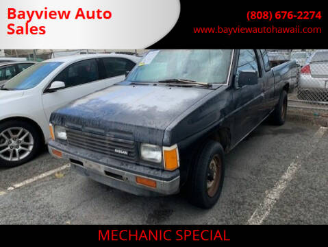 1987 Nissan Truck for sale at Bayview Auto Sales in Waipahu HI