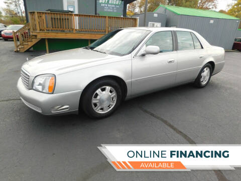 2005 Cadillac DeVille for sale at Buy Right Auto Sales Inc in Fort Wayne IN