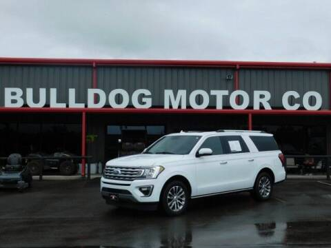 2018 Ford Expedition MAX for sale at Bulldog Motor Company in Borger TX