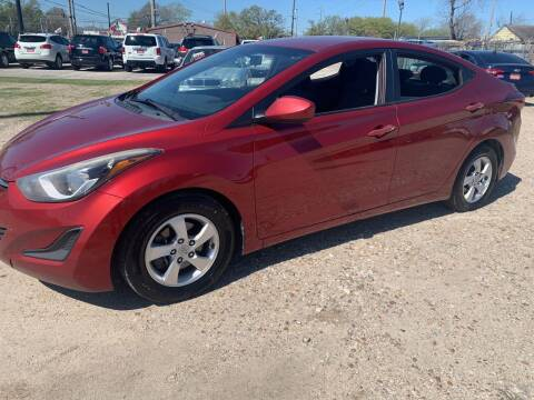 2015 Hyundai Elantra for sale at FAIR DEAL AUTO SALES INC in Houston TX