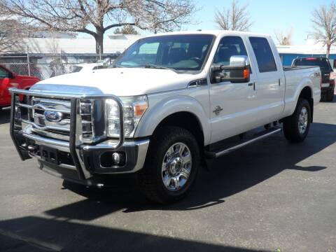 2012 Ford F-350 Super Duty for sale at T & S Auto Brokers in Colorado Springs CO