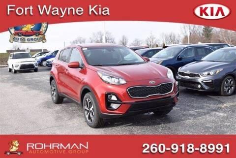 2021 Kia Sportage for sale at BOB ROHRMAN FORT WAYNE TOYOTA in Fort Wayne IN