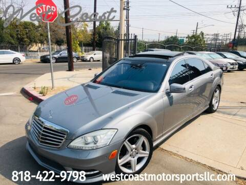 2010 Mercedes-Benz S-Class for sale at West Coast Motor Sports in North Hollywood CA
