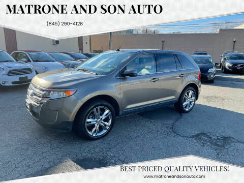 2013 Ford Edge for sale at Matrone and Son Auto in Tallman NY