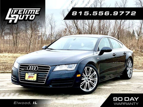 2014 Audi A7 for sale at Lifetime Auto in Elwood IL