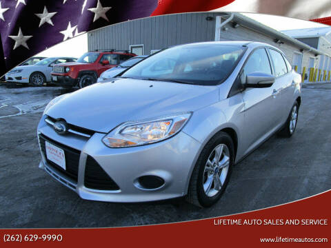 2013 Ford Focus for sale at Lifetime Auto Sales and Service in West Bend WI