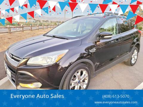 2013 Ford Escape for sale at Everyone Auto Sales in Santa Clara CA