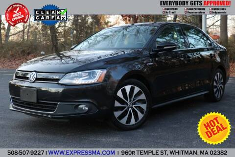 2013 Volkswagen Jetta for sale at Auto Sales Express in Whitman MA