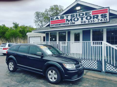 2013 Dodge Journey for sale at EASTSIDE MOTORS in Tulsa OK