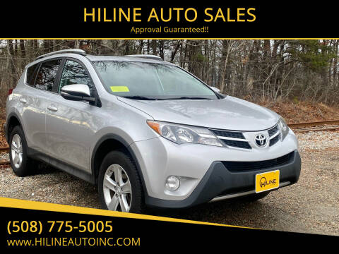2014 Toyota RAV4 for sale at HILINE AUTO SALES in Hyannis MA
