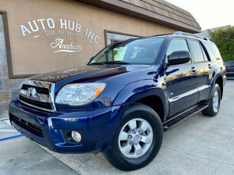 2006 Toyota 4Runner for sale at Auto Hub, Inc. in Anaheim CA