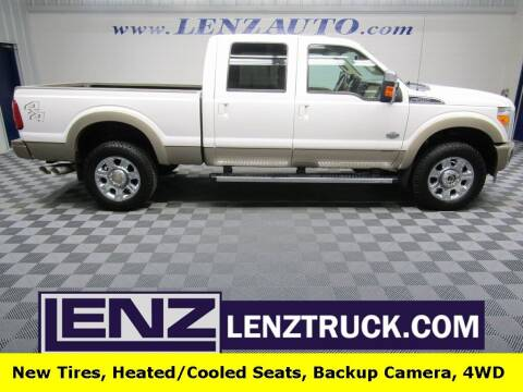 2012 Ford F-350 Super Duty for sale at LENZ TRUCK CENTER in Fond Du Lac WI