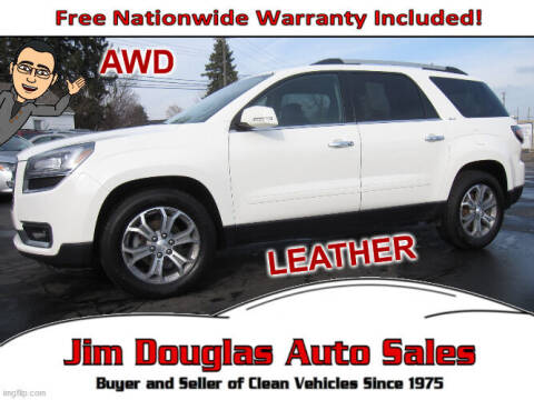 2013 GMC Acadia for sale at Jim Douglas Auto Sales in Pontiac MI