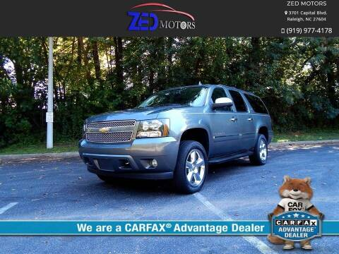 2011 Chevrolet Suburban for sale at Zed Motors in Raleigh NC