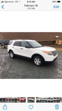 2013 Ford Explorer for sale at Clayton Auto Sales in Winston-Salem NC