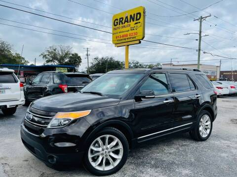 2014 Ford Explorer for sale at Grand Auto Sales in Tampa FL