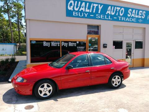 2005 Chevrolet Cavalier for sale at QUALITY AUTO SALES OF FLORIDA in New Port Richey FL