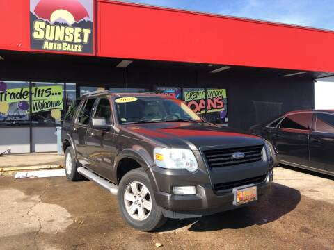 2007 Ford Explorer for sale at Sunset Auto Sales & Repair in Lasalle CO