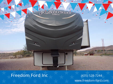 2014 Forest River Wildcat 302RL for sale at Freedom Ford Inc in Gunnison UT
