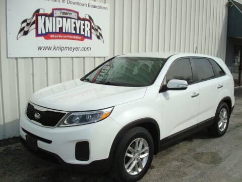 2014 Kia Sorento for sale at Team Knipmeyer in Beardstown IL