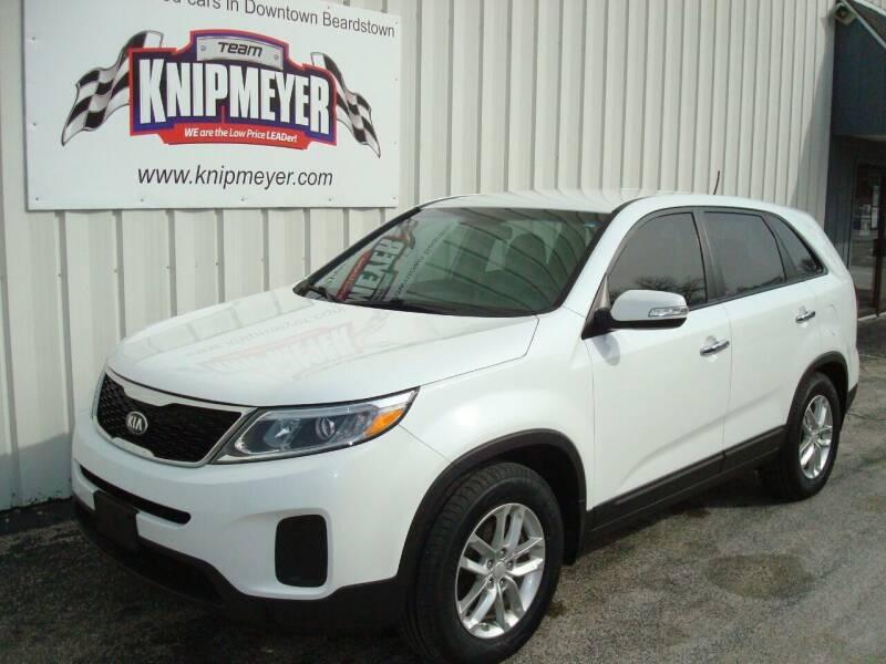 2014 Kia Sorento for sale at Team Knipmeyer in Beardstown IL