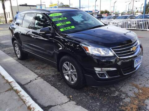 2016 Chevrolet Traverse for sale at LA PLAYITA AUTO SALES INC - 3271 E. Firestone Blvd Lot in South Gate CA