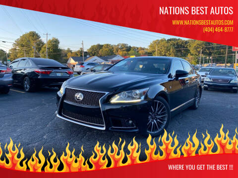 2013 Lexus LS 460 for sale at Nations Best Autos in Decatur GA