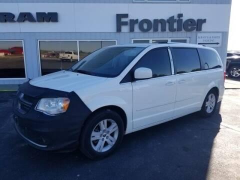 2011 Dodge Grand Caravan for sale at Frontier Motors Automotive, Inc. in Winner SD
