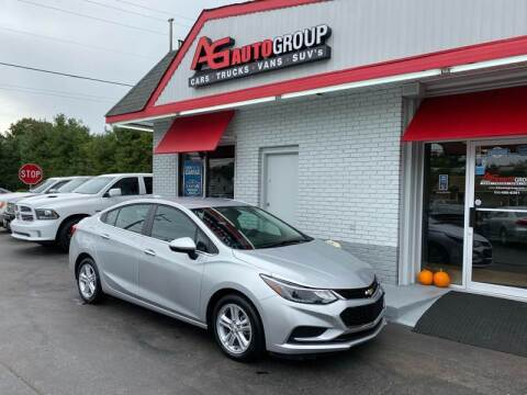 2018 Chevrolet Cruze for sale at AG AUTOGROUP in Vineland NJ