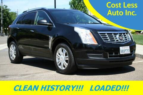 2014 Cadillac SRX for sale at Cost Less Auto Inc. in Rocklin CA