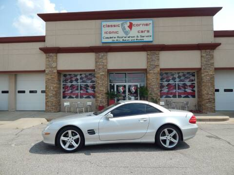 2004 Mercedes-Benz SL-Class for sale at Iconic Motors of Oklahoma City, LLC in Oklahoma City OK