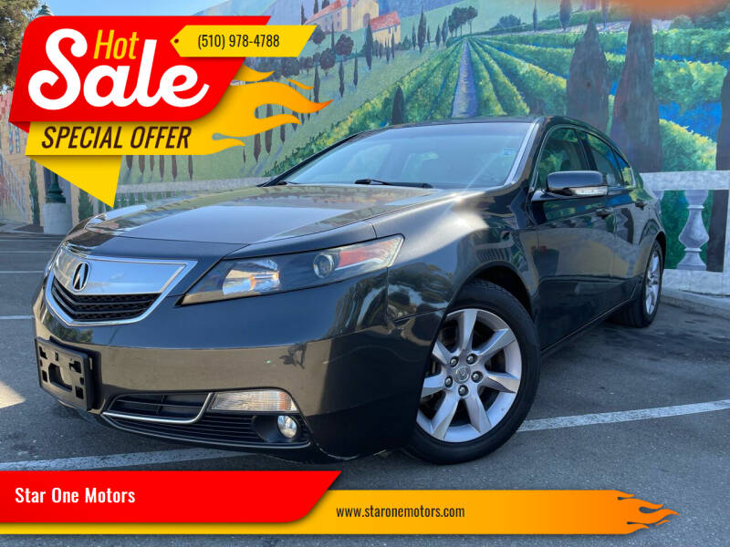 2013 Acura TL for sale at Star One Motors in Hayward CA