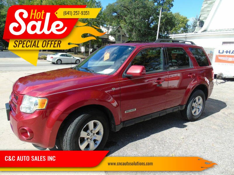 2008 Ford Escape for sale at C&C AUTO SALES INC in Charles City IA
