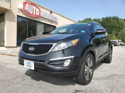2016 Kia Sportage for sale at Auto Wholesalers Of Hooksett in Hooksett NH