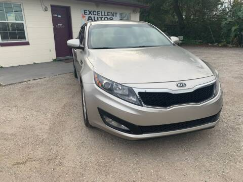2012 Kia Optima for sale at Excellent Autos of Orlando in Orlando FL