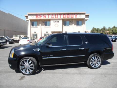 2011 Cadillac Escalade ESV for sale at Best Auto Buy in Las Vegas NV