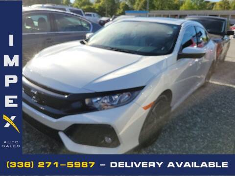 2017 Honda Civic for sale at Impex Auto Sales in Greensboro NC