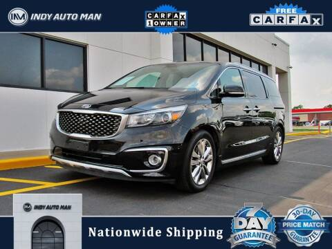 2017 Kia Sedona for sale at INDY AUTO MAN in Indianapolis IN
