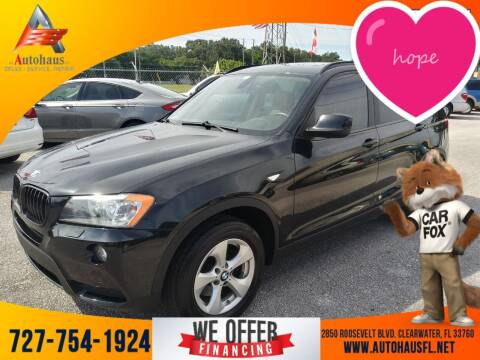 2011 BMW X3 for sale at Das Autohaus Quality Used Cars in Clearwater FL