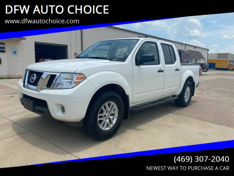 2019 Nissan Frontier for sale at DFW AUTO CHOICE in Dallas TX