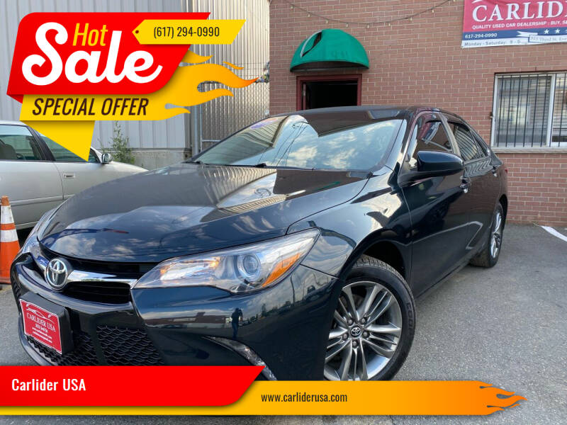 2017 Toyota Camry for sale at Carlider USA in Everett MA