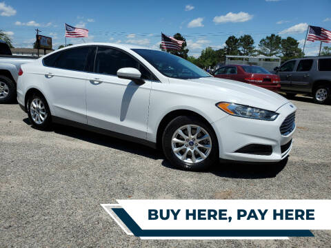 2015 Ford Fusion for sale at Rodgers Enterprises in North Charleston SC