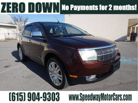 2009 Lincoln MKX for sale at Speedway Motors in Murfreesboro TN