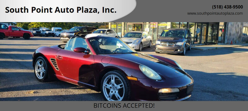 2006 Porsche Boxster for sale at South Point Auto Plaza, Inc. in Albany NY
