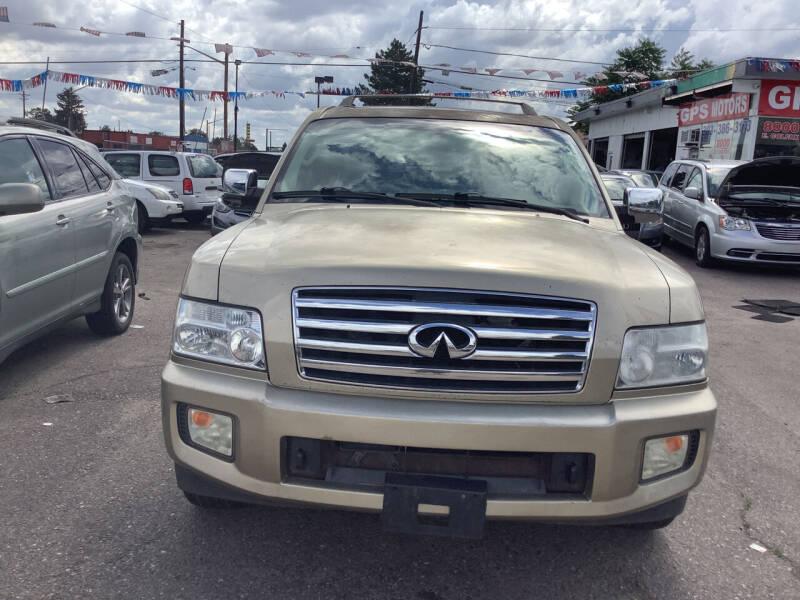 2004 Infiniti QX56 for sale at GPS Motors in Denver CO