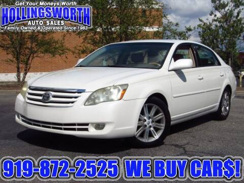 2006 Toyota Avalon for sale at Hollingsworth Auto Sales in Raleigh NC
