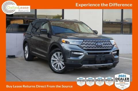 2020 Ford Explorer for sale at Dallas Auto Finance in Dallas TX